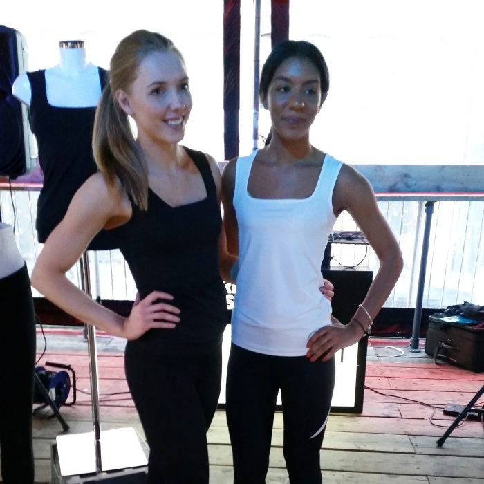 The beautiful Natalie (The Blonde Ethos) and Layla (Avocado Gains) showcasing the garments' flattering cuts.